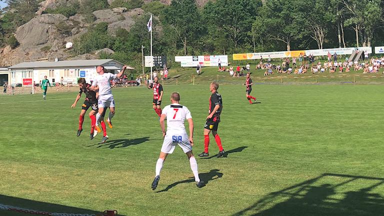 Grebbestad tog emot Skövde AIK