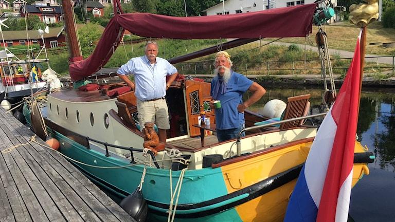 Bild på en nederländsk båt.
