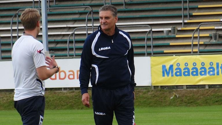 Fotboll Ljungskile Zoran Lukic tränare