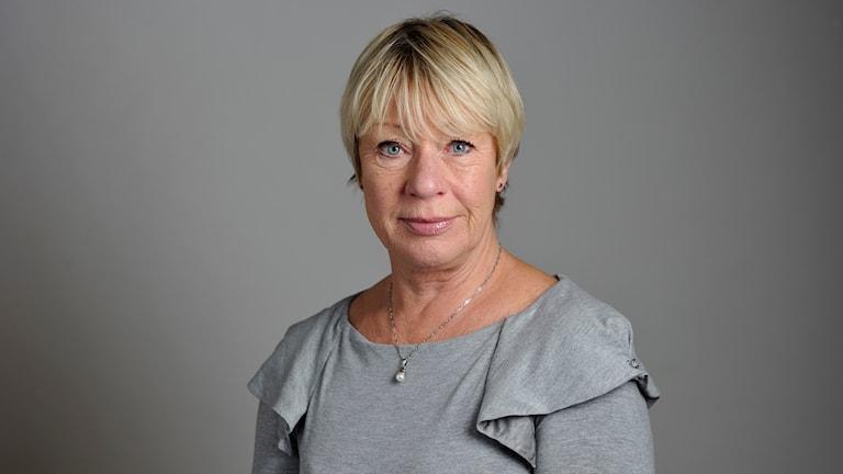 Wiwi-Anne Johansson (V) riksdagen från TT