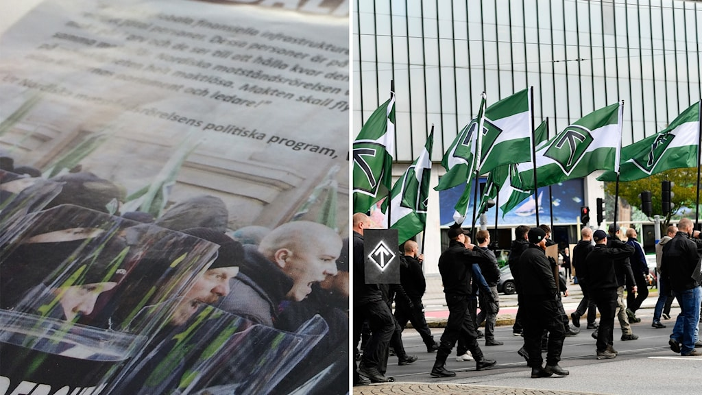 Nazisterna har genomfört över 100 aktiviter i Fyrbodal under 2017. Från propaganda till stridsträning.