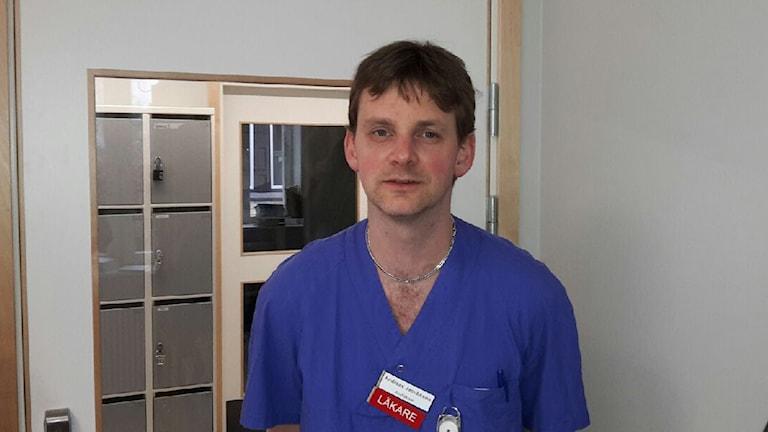 Andreas Jacobsson är läkare på Näl