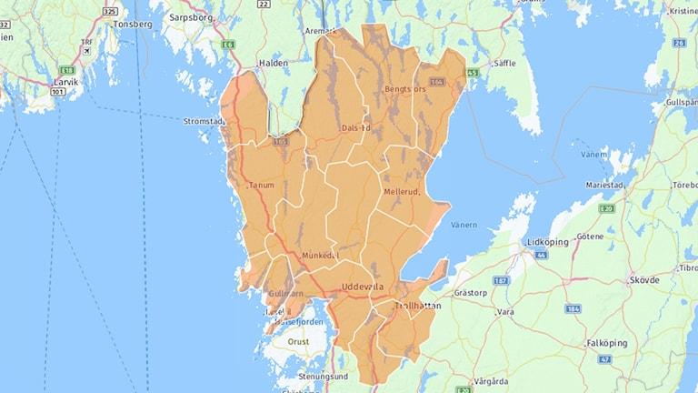 Karta våra kommuner