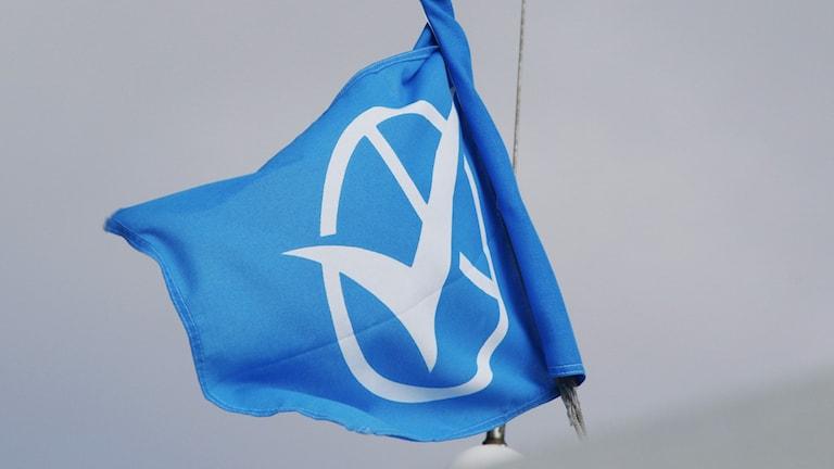 Västtrafik-flagga.