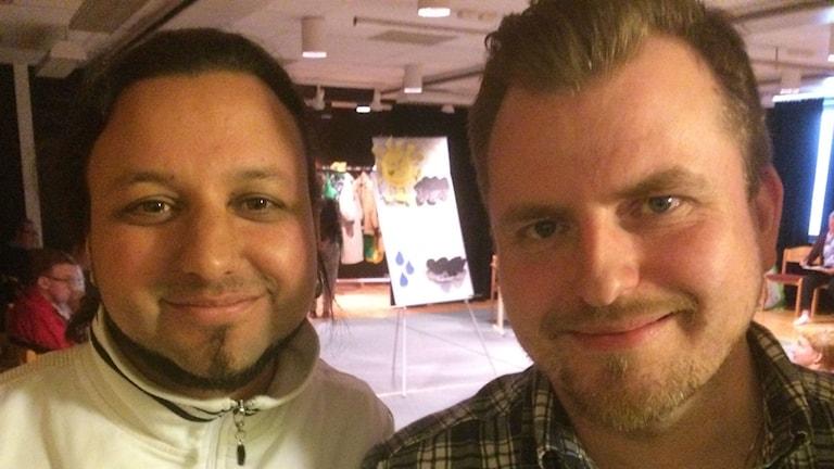 Bild på Marcus Brander och Mattias Alvsjö.