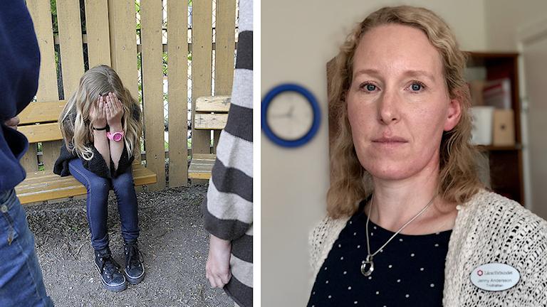 Jenny Andersson, Lärarförbundets ordförande i Trollhättan.