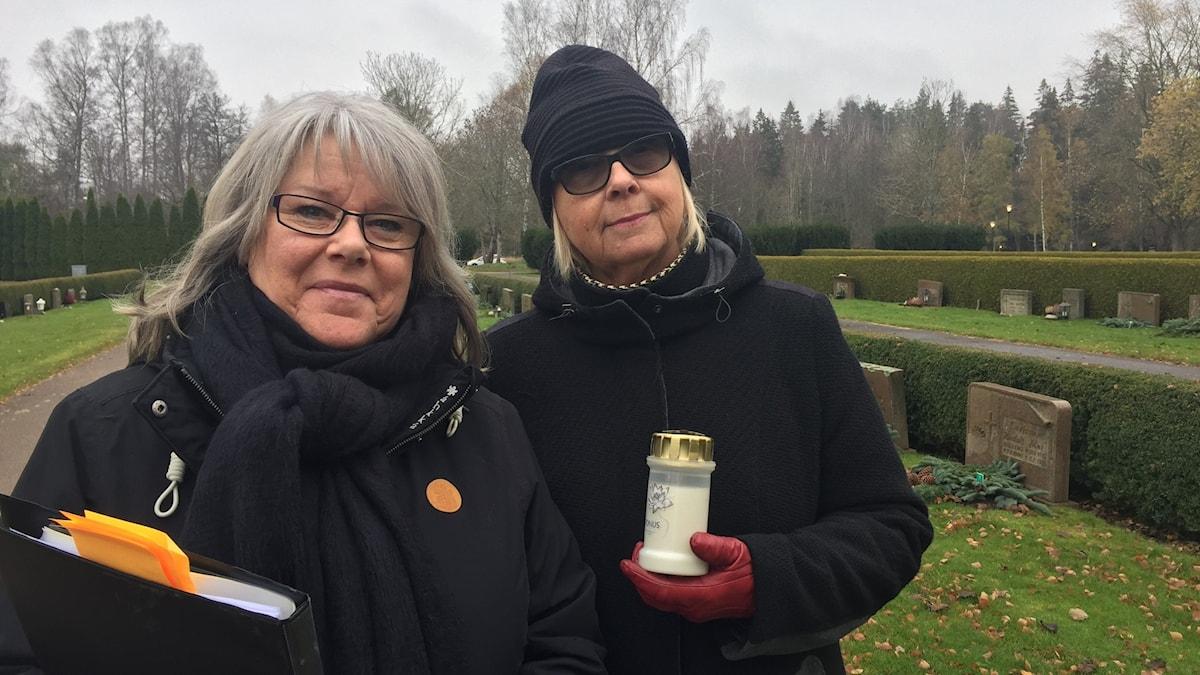 Eva Agerlund och Joyce Hellgren