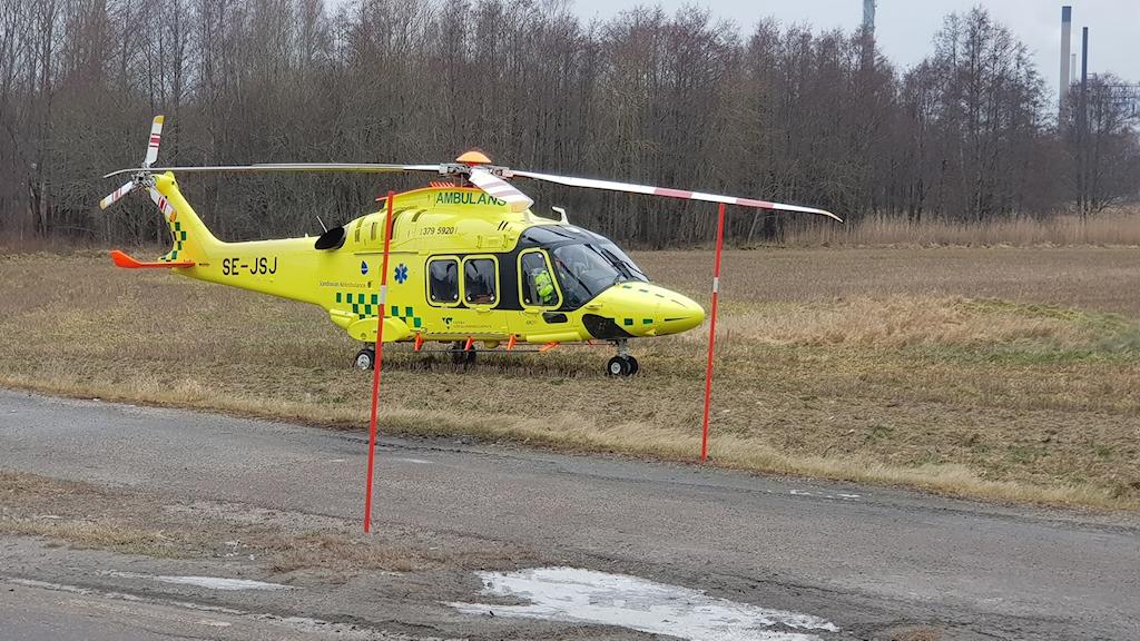 Helikopter i Stenungsund
