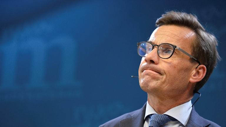 Bild på Moderaternas nye partiledare Ulf Kristersson.
