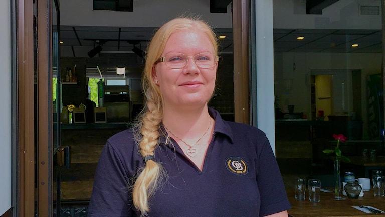 Jenny och hennes man har satsat på att starta restaurang i Vargön.
