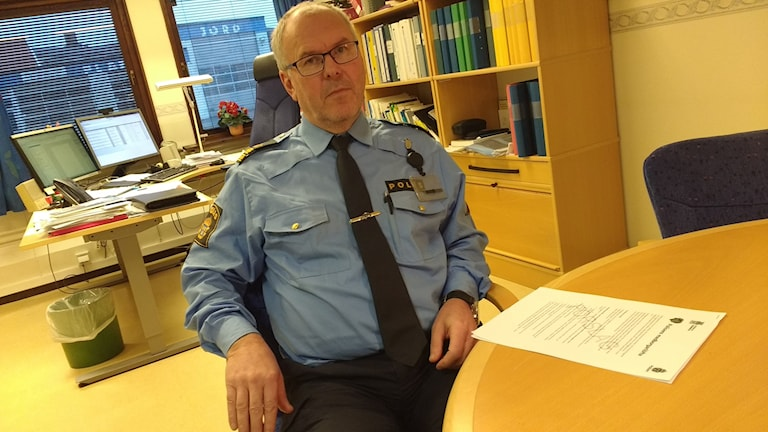 Kommunpolis Henrik Rörberg