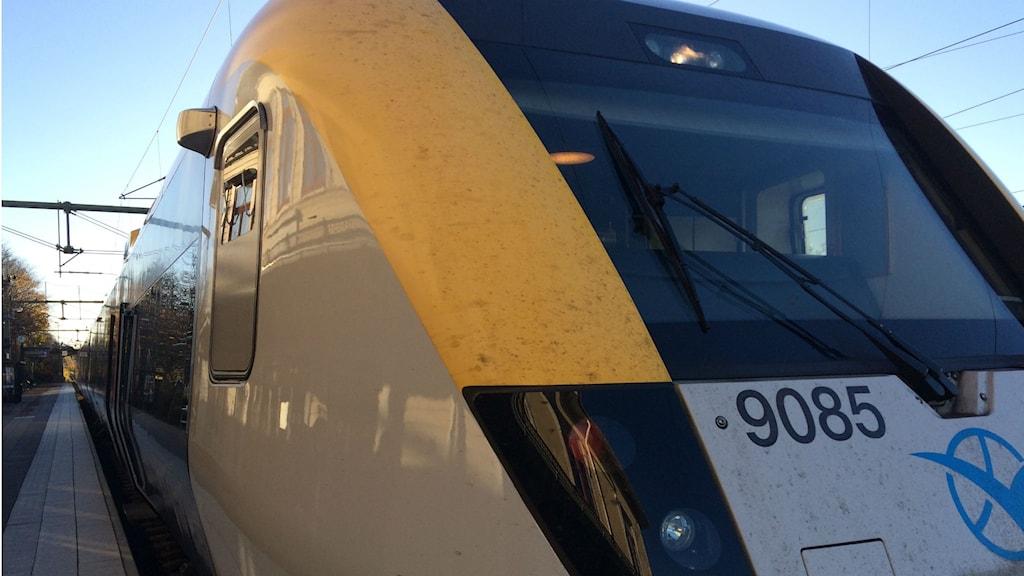 Bild på Västtrafiks tåg