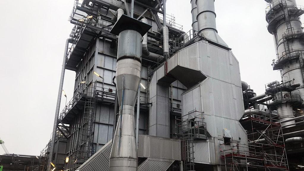Bild på Raffinaderiet i Lysekil