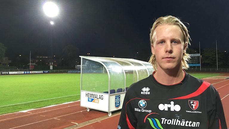 Fotboll, Fredrik Sundström  i FC Trollhättan