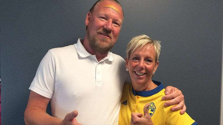 Lena Arwedahl och Eddie Dunkel.