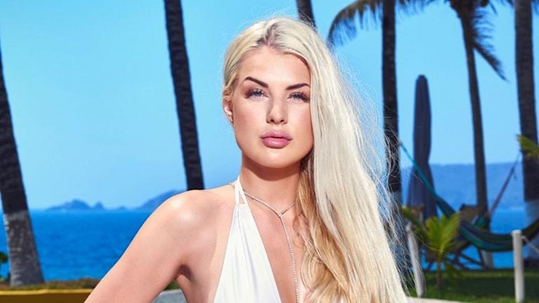 Sandra Johansson från Uddevalla är en av deltagarna i årets Paradise Hotel.