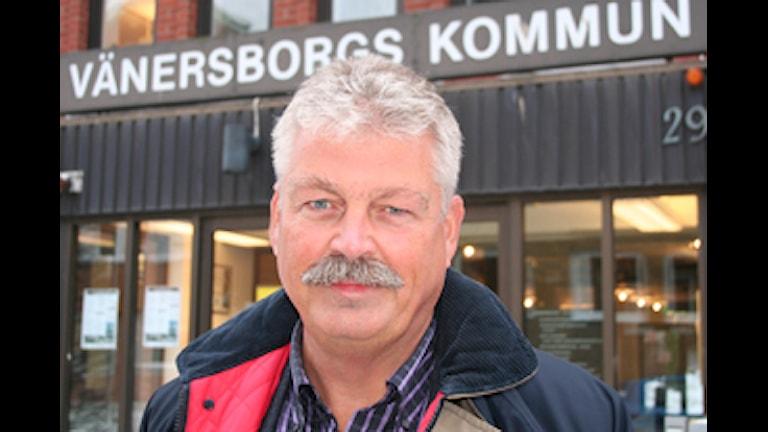 Ove Thörnkvist lämnar uppdraget som kommundirektör i Vänersborg. Foto: Vänersborgs kommun