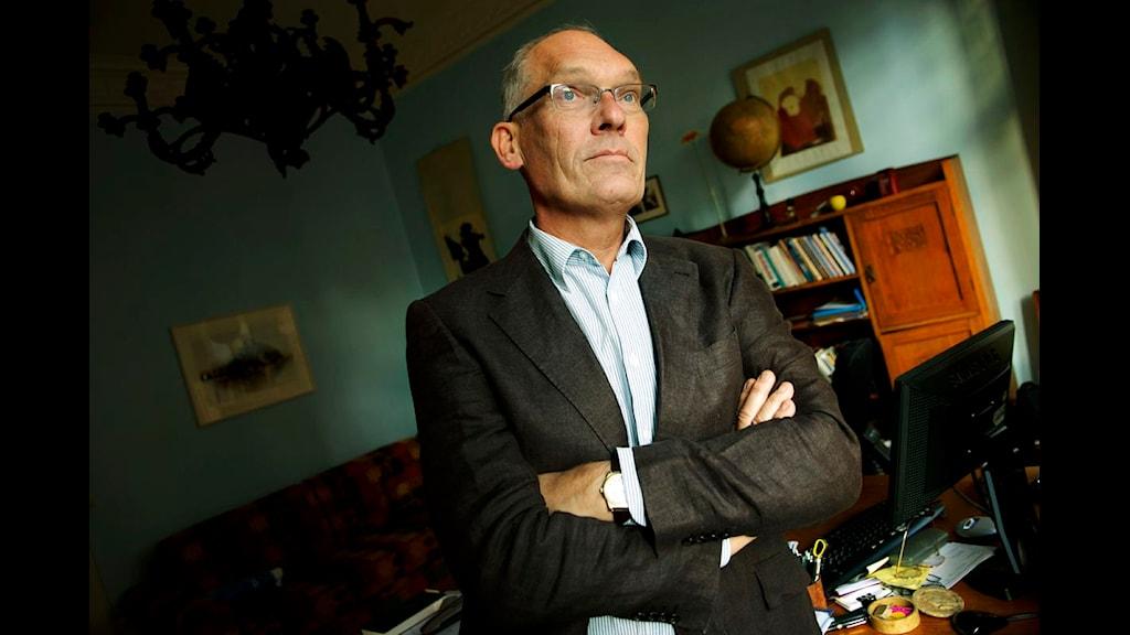 Journalisten Olle Rossander. Foto: Malin Hoelstad/Scanpix