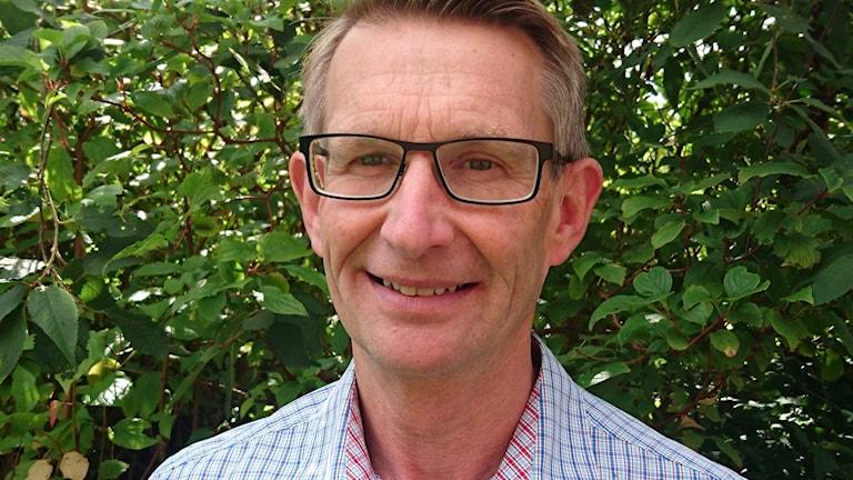 Porträtt av Krister Olsson, koordinator på Fiskekommunerna.