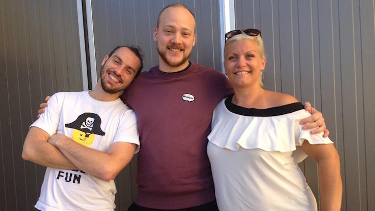Danskollektivet  React och Kim Jondell från Uddevalla kommun