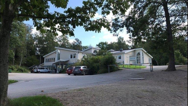 Hällebergsskolan i Ljungskile.