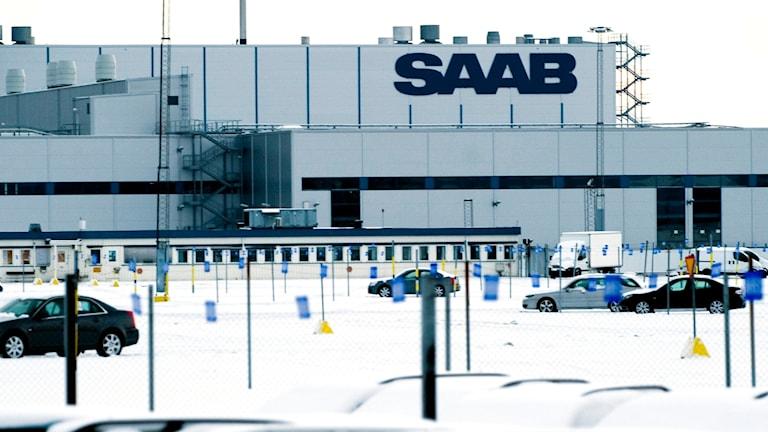 Saabfabriken i Trollhättan. Foto: Adam Ihse (arkivbild)