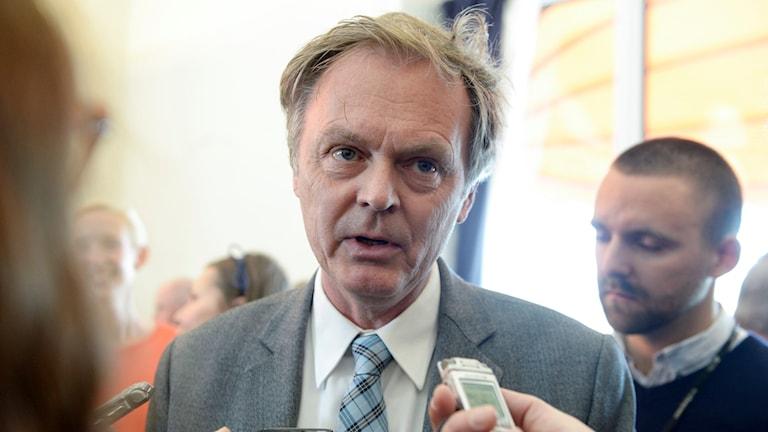 Peter Rådberg vill tillbaka till riksdagen.