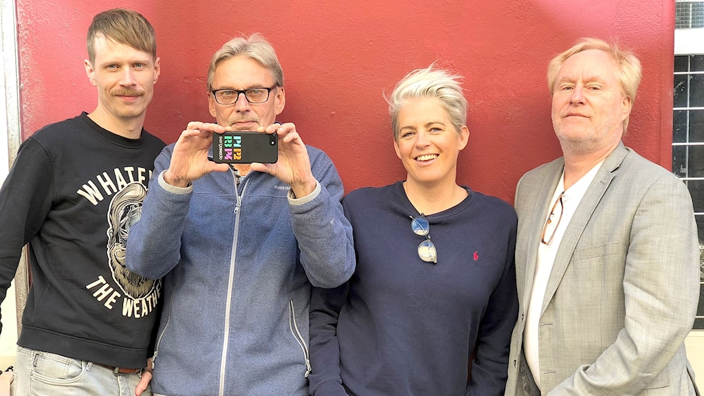 Jimmie Schewenius, Benny Andersson, Therese Mc Donald och Peter Sundblad