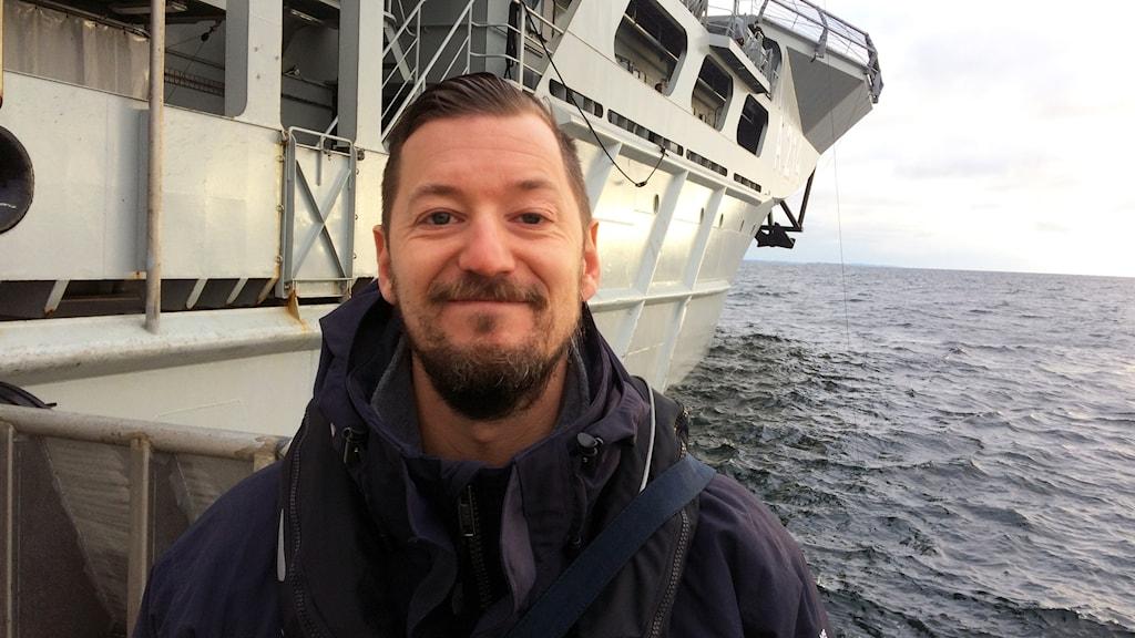 Fredrik Lindgren på havs och vattenmyndigheten