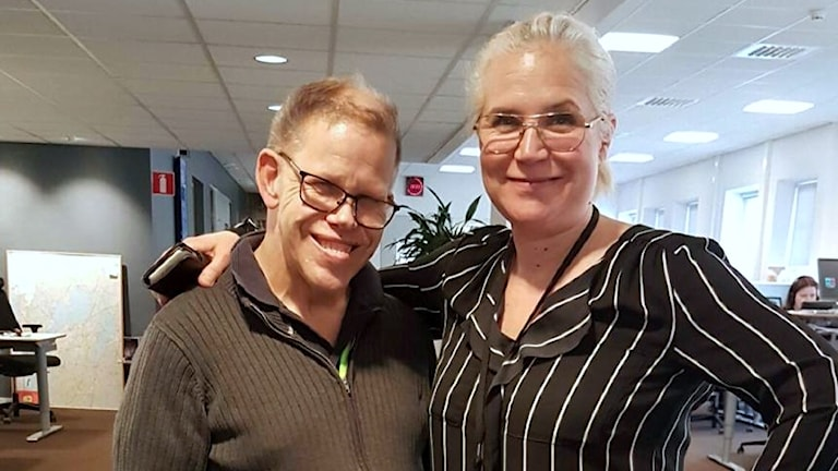 Karl-Johan Bergqvist och Kim Kärnfalk