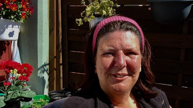 Camilla Bryngelsson stortrivs i Frändefors men önskar att kommun kunde ordna fler rastplatser.