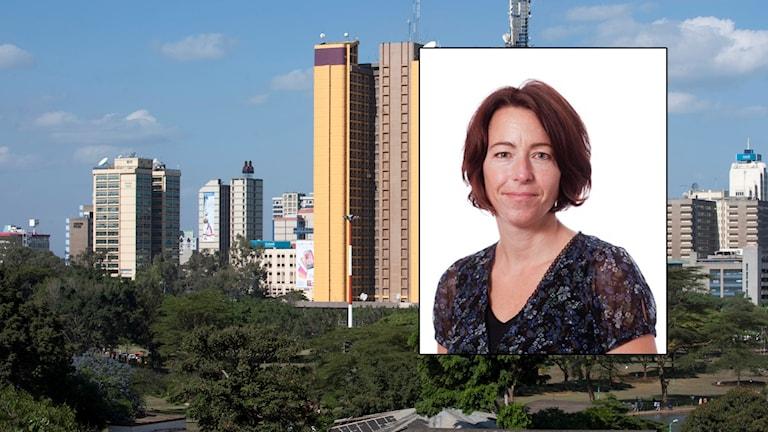 Maria Bergqvist,  kommunikatör för internationella verksamheten på IOGT-NTO.
