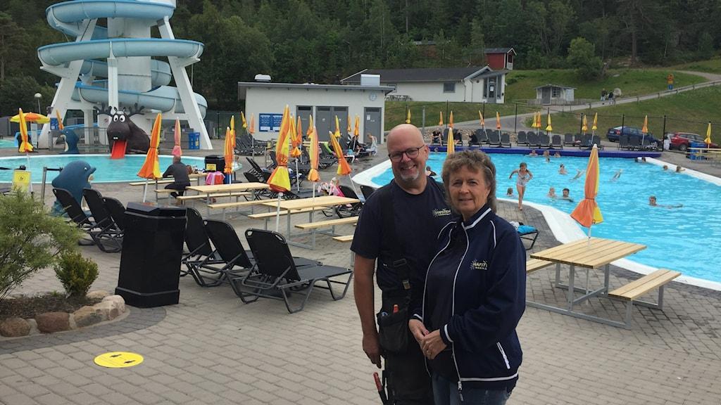 Kjell Karlsson Grytfors och Ingela Grytfors