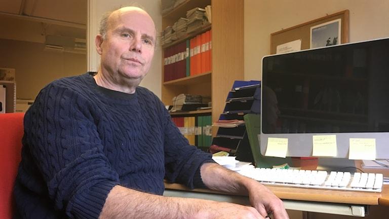 Göran Nyberg, vd för Uddevallaposten.