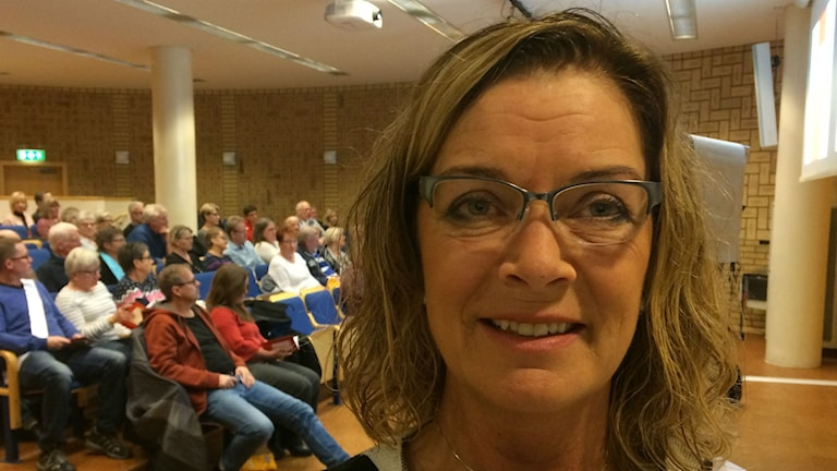 Bild på Katarina Dahl.