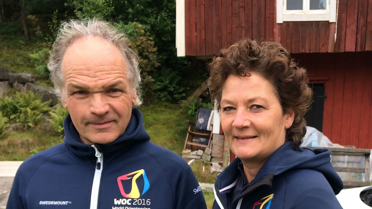 Bild på Göran Olsson och Carina Reichenberg