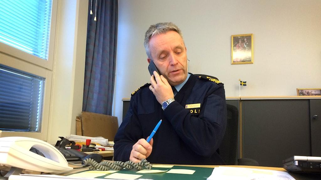 Poliskommissarie Peter Torstensson i Åmål