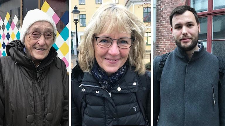 Enkät. Barbro Jonsson, Anna Bjerkstig och Mattias Åberg tycker till om Black friday.