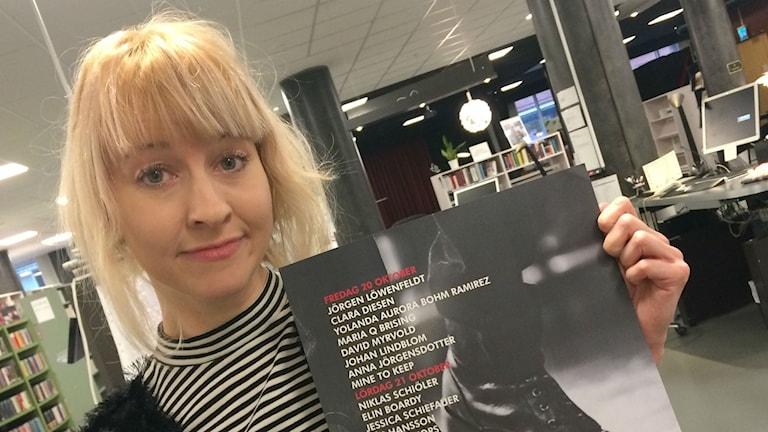 Helena Sundström, Trollhättans poesifestival.