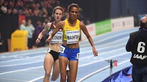 Meraf Bahta slutade på 11:e plats i finalen av damernas 3000 m i Birmingham.