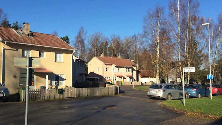 Parhus i området Skogshöjden i Trollhättan.