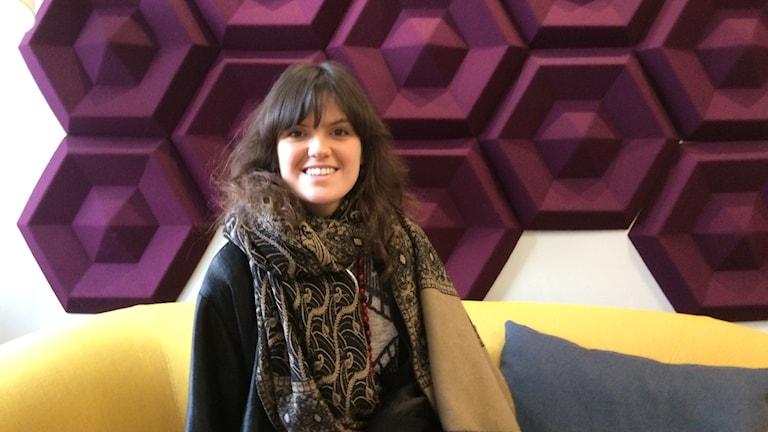 Sandra Zackrisson eller Gaia Salamandra som hon kallar sig som artist.