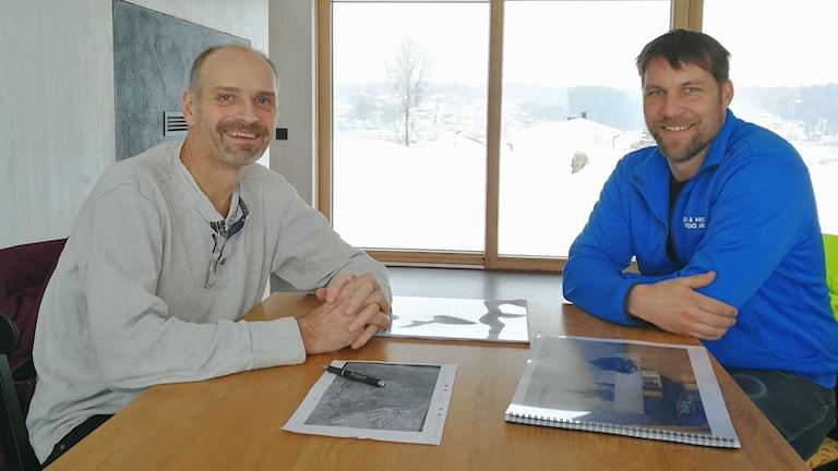 Anders och Jonas i Dalslandsstugan 2.0