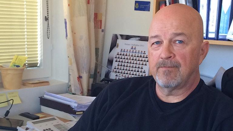 Sten-Rune Timmersjö. Foto: Marie Mattsson/Sveriges Radio