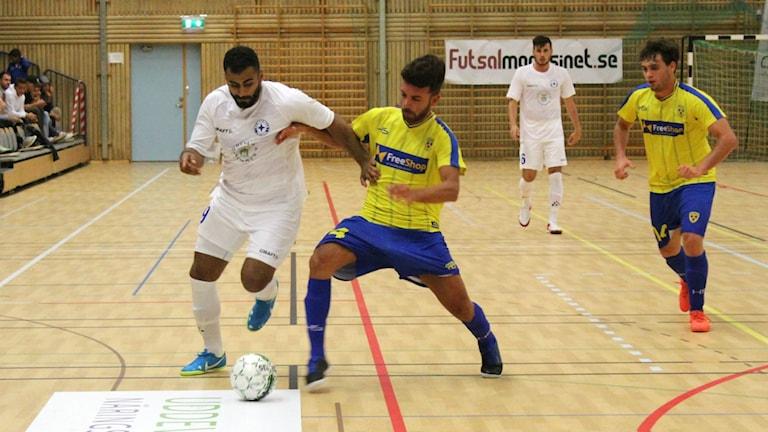 Jihad Nashabat i IFK Uddevalla futsal.