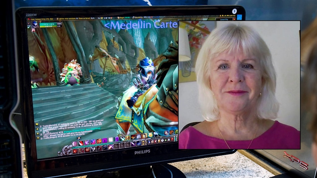 Susanne Bergstedt infälld i bild framför datorskärm.