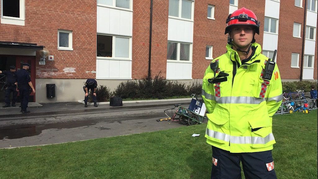 Räddningsledare Johannes Johnsson