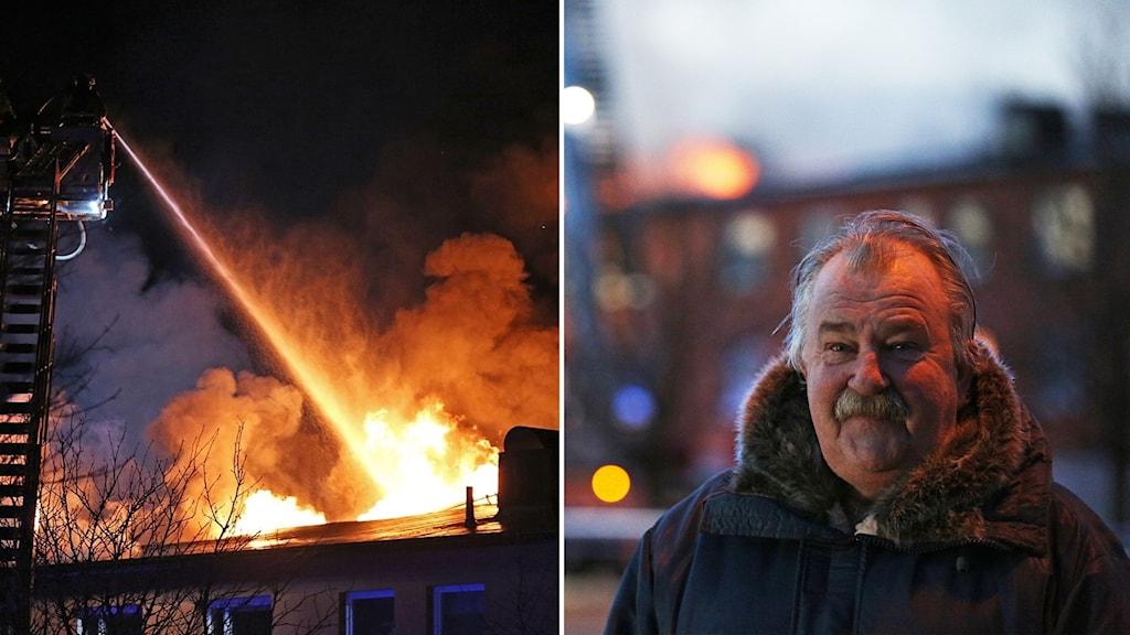 Brand i Vänersborg