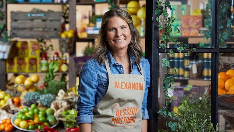Alexandra från Fiskebäckskil deltar i den nya säsongen av Dessertmästarna.