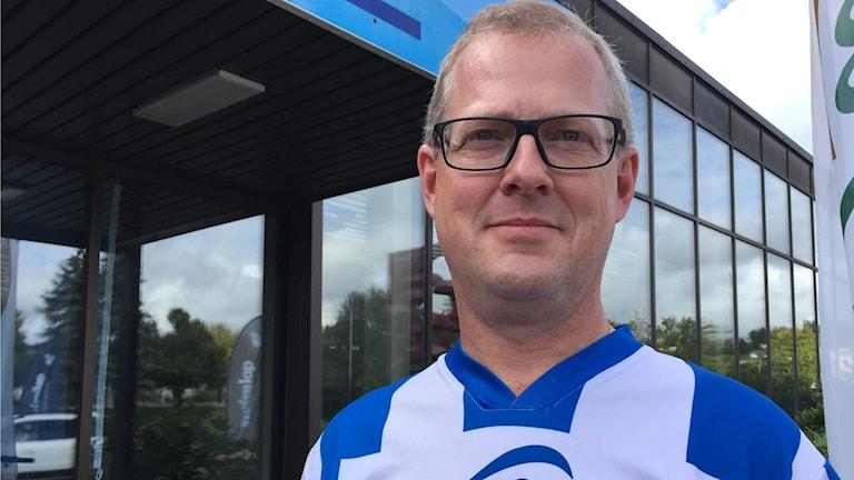 Bild på Magnus Josephson, ordförande i Uddevalla Sim.